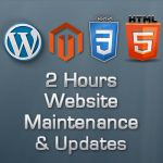 Website Maintenance and Updates 2 hours