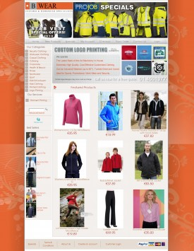 Bwear.ie - Uniforms & Workwear
