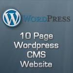 10 Page Wordpress CMS Website