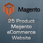 25 Page Magento eCommerce Store