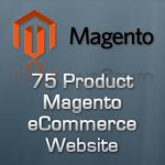 75 Page Magento eCommerce Store