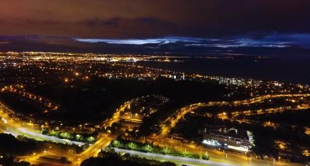 Dublin City at Night from UCD