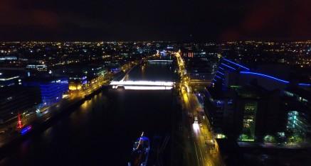 Dublin Liffey River & CCD Building Video