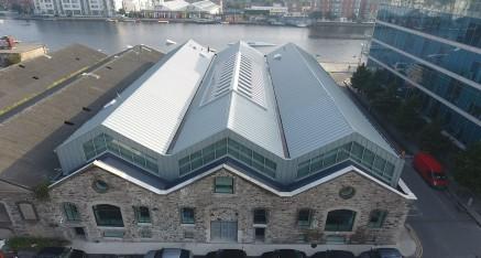 Air BnB Dublin Docklands Drone Video